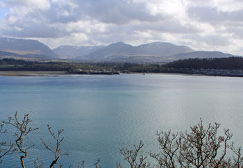 Views of Snowdonia north Wales